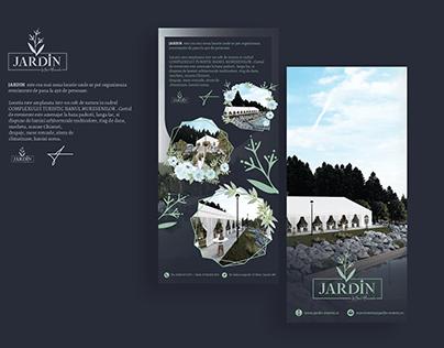 Flyer design Jardin Events