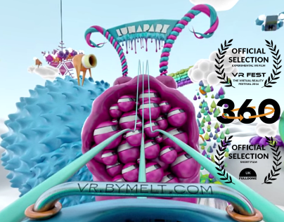 It's like Pixar. On acid. Otherworldly VR Experience