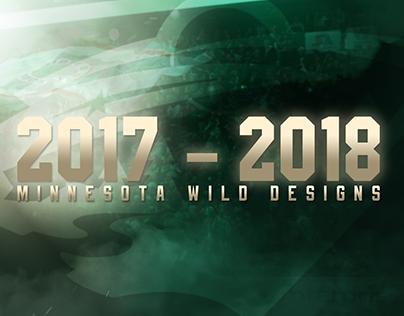 Personal - 2017-2018 Minnesota Wild Designs
