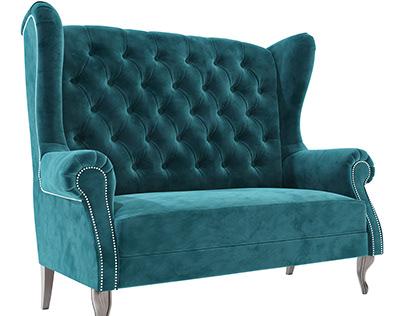 Kingfisher sofa