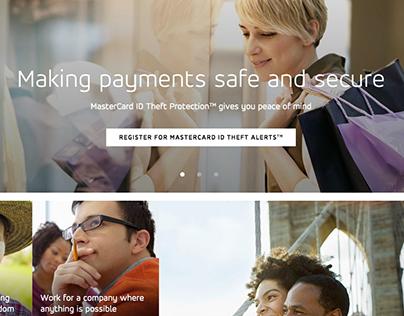 MasterCard.us Redesign