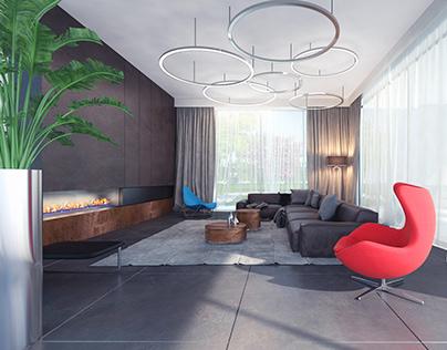 House 06_Living room