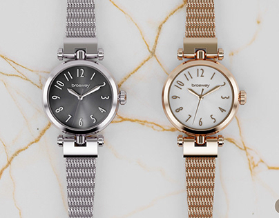 Olivia Milanese Mesh [S/S '18] | Brosway Watches