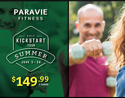 Paravie Fitness marketing campaigns