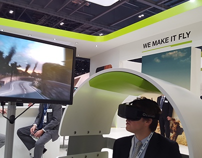 Airbus Virtual Reality Experience (Oculus)