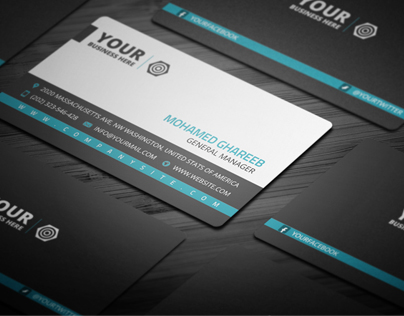 Creative Corporate Business Card 17