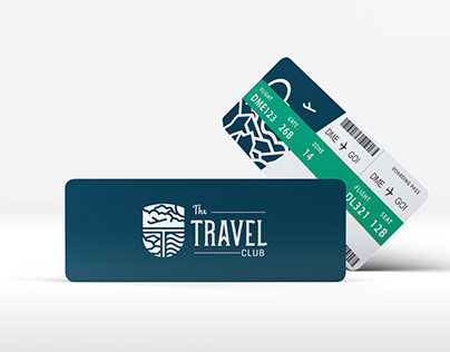 The Travel Club - Logo & Corporate Identity