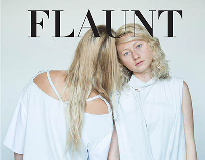 Flaunt Magazine Editorial Mock-Up