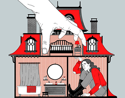 Ibsen's A Doll's House Theatre Poster