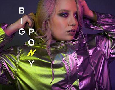 Album cover// Big Pony