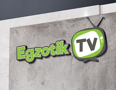 Egzotik TV - Logo ve YouTube Kapak Tasarımı