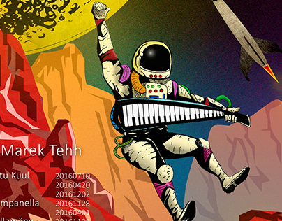 Portada de disco: Musical astronaut