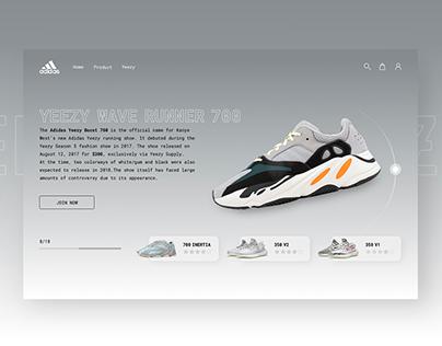 Adidas YEEZY | UI Concept