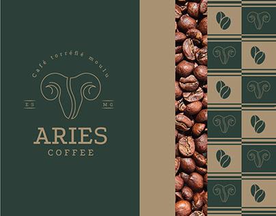 Aries Coffe - Branding