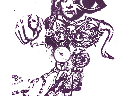 Cadavre exquis - Sérigraphie