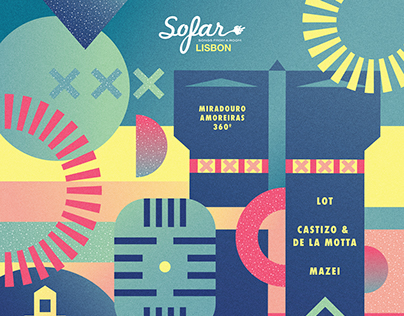 Poster - Sofar Sounds Lisbon