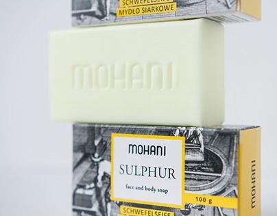 Soap package Mohani Sulphur