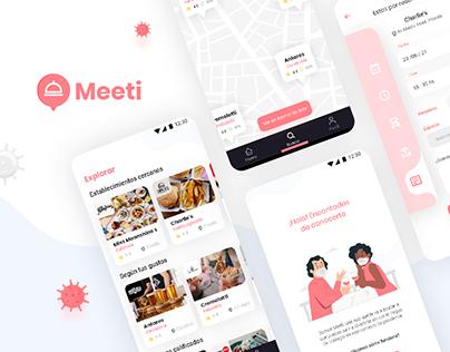Meeti • UX/UI Design