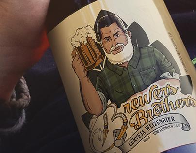 Rótulo de Cerveja - Brewers Brothers