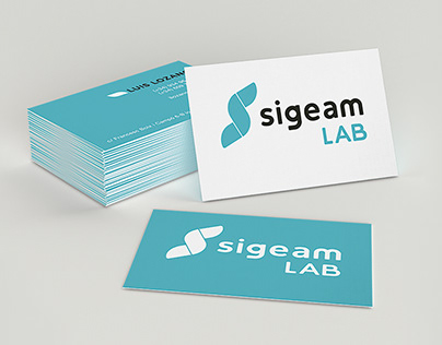 SIGEAM LAB logo design