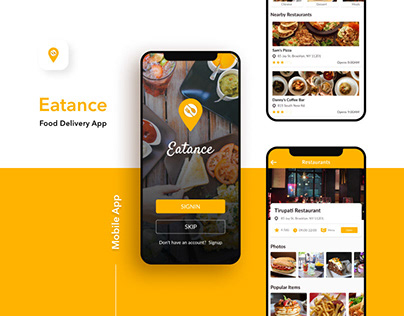Eatance Restaurant and Food Delivery App