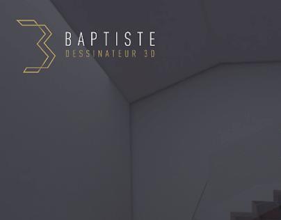 Baptiste / Dessinateur 3D