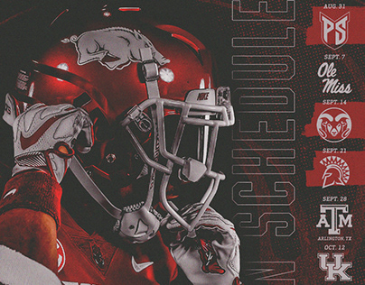 Arkansas Razorbacks 2019 Season Schedule Wallpaper/Mail