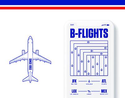 B-FLIGHTS APP