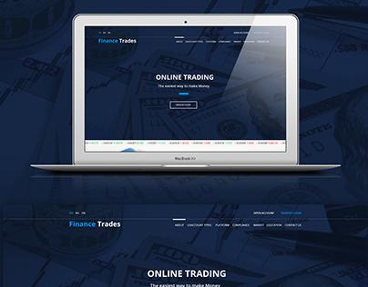 Finance Trades - Website
