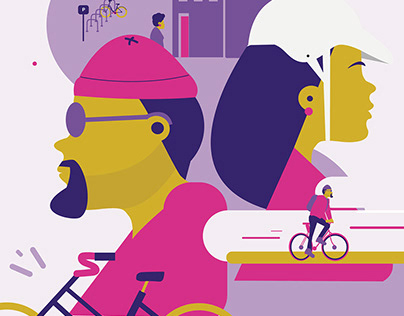 Bike to Work Day Poster - 2019