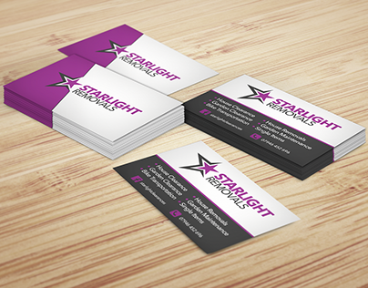 Business Card Design for Starlight Removals