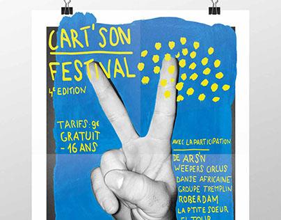 Identité Festival Cart'Son