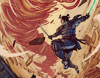 Samurai vs Tornado