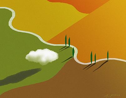 Paesaggi dipinti- Painted Landscapes