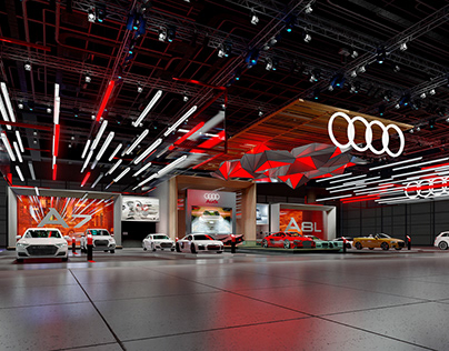 AUDI EXHIBITION DESIGN CONCEPT