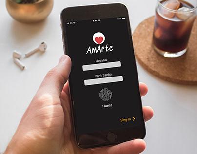 AmArte - prototype app