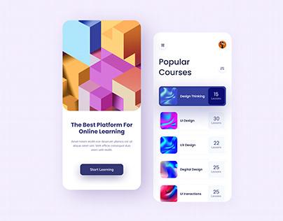 Online Learning mobile app (Free)