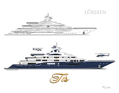 250+ Yacht Illustrations & Line Drawings