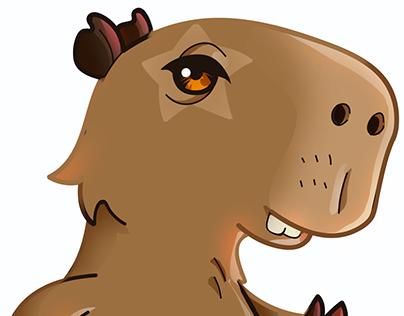 Mascote da CapiPop