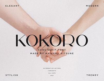 Kokoro Sans Serif