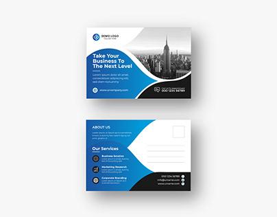 Corporate Modern Postcard or eddm Postcard design vol-7