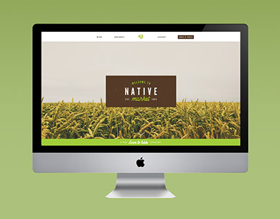 Native Market Website