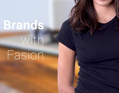 Creative Brands - Website layout exploration