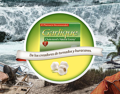 Garlique Concept Campaign Proposal (Not Used)