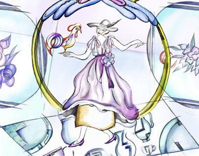 12 Zodiacs in Fashion For ELLE Magazine