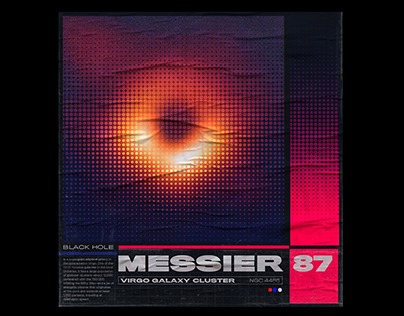 Messier 87 poster project