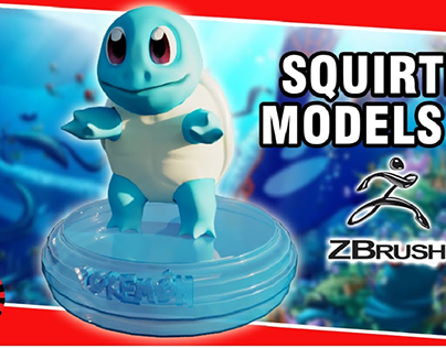 Squirtle 3d