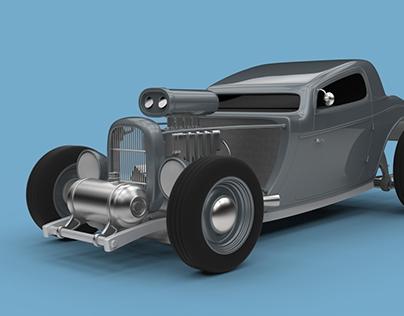 Hot Rod 3D