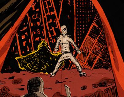 Rosencrantz & Guildenstern comic cover