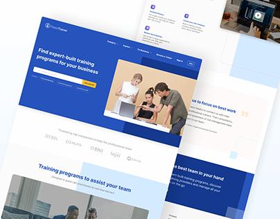 Corporate Training Business   Web & UI/UX Design